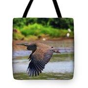 Tiger Heron Tote Bag