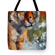 Tiger Hotty Totty Style Tote Bag