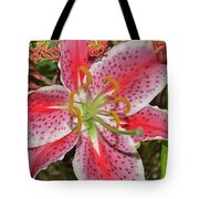 Tiger Lilly Tote Bag