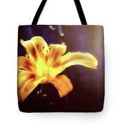 Tiger Lily On Waters Edge Tote Bag