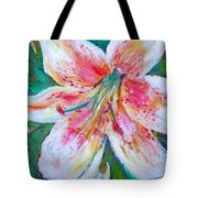Tiger Lily Passion Tote Bag
