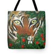 Tiger Prey  Tote Bag