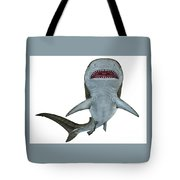 Tiger Shark Underside Tote Bag
