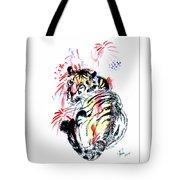 Tiger Siesta Tote Bag
