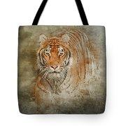 Tiger Splash Tote Bag