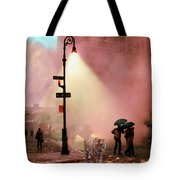 Tiger Suanters The Sloggy Evening Urban Landscape Tote Bag