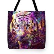 Tiger Surreal Painting Predator  Tote Bag