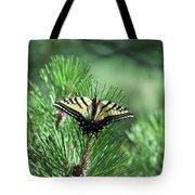 Tiger Swallow Tail Tote Bag