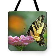 Tiger Swallowtail Butterfly Tote Bag by Bill Cannon