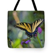 Tiger Swallowtail Painting Tote Bag
