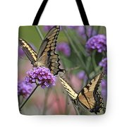 Tiger Swallowtails Tote Bag