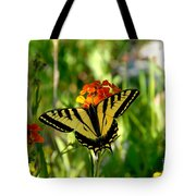 Tiger Tail Beauty Tote Bag