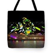 Tiger Tiger Burning Bright - Sydney Vivid Festival Tote Bag