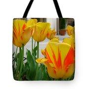 Tiger Tulips Tote Bag
