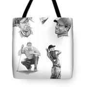 Tiger Woods- Full Circle Tote Bag