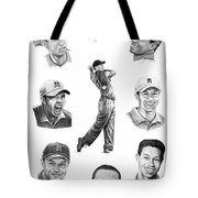 Tiger Woods-murphy Elliott Tote Bag