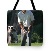 Tiger Woods P Tote Bag