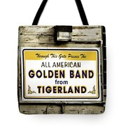 Tigerland Band Tote Bag by Scott Pellegrin