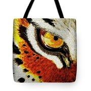 Tiger's Eye Tote Bag