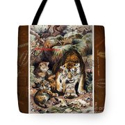 Tigers For Responsible Tourism Tote Bag