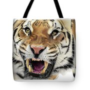 Tigers Pace Tote Bag