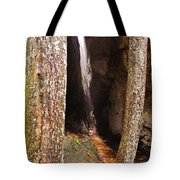 Tight Spaces Tote Bag