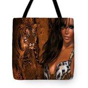 Tigress # 2 Tote Bag