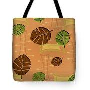 Tiki Lounge Wallpaper Pattern Tote Bag