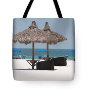 Tiki On The Gulf Tote Bag