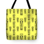 Tikis Mini Tote Bag by Donna Mibus