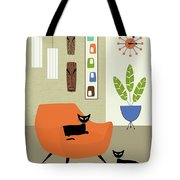 Tikis On The Wall Tote Bag