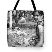 Tilak Devi 1985 Tote Bag