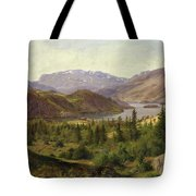 Tile Fjord Tote Bag by Louis Gurlitt