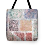 Tile Splash Tote Bag