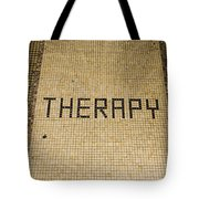 Tile Therapy Tote Bag