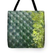 Tile Wall Of The Ringling Museum Asian Art Center Tote Bag