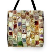 Tiled Abstract Tote Bag