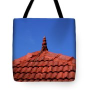 Tiled Roof Near Ooty, India Tote Bag