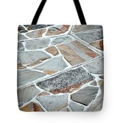 Tiles From Sandstone Quarried Stone Tote Bag