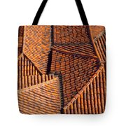 Tiles Kiss Tote Bag