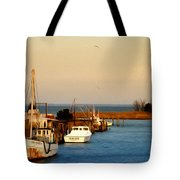 Tilghman Island Maryland Tote Bag