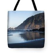 Tillamook Head Reflection Tote Bag