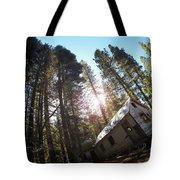 Tilted House, Real Estate Series Tote Bag