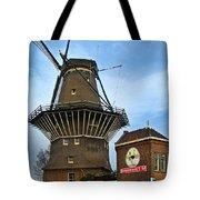 Tilting At Windmills In Amsterdam Tote Bag