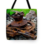 Timber Gears Built The West Tote Bag