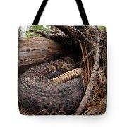 Timber Rattlesnake Tote Bag