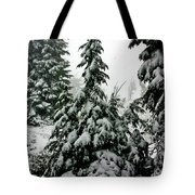 Timberline Snow Tote Bag