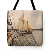 Timberwind Off The Bow Tote Bag
