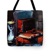 Time And Old Friends Tote Bag