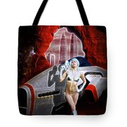 Time And Space Portal Tote Bag